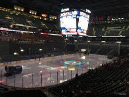Nationwide Arena Club 8 Columbus Blue Jackets