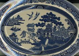 Blue Willow Pattern Awesome Decorating