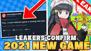 NEW GAME in 2021 CONFIRMED BY LEAKERS for Pokemon Switch (Gen 4 Remakes or  Let's Go Johto?) - YouTube