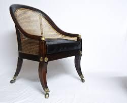 Oak Bedroom Chair Regency Period Oak Bergere Library Chair Or Bedroom Chair
