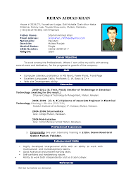 Cover Letter Best Resume Format For Fresher Free Download Best