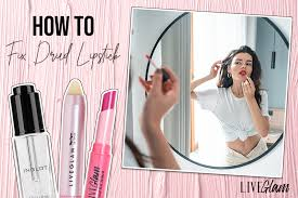 how to fix dried out liquid lipstick