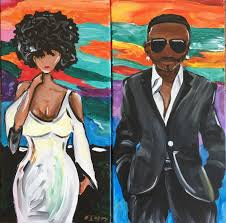 slayed and suave a date night painting you choose her or him