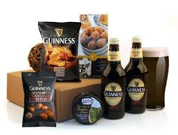 guinness gifts this por beer gift includes 2 bottles of the magic of guinness with savoury snacks and cheese