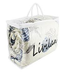 Amazon.com: Livilan Clear Heavy Duty Vinyl Zippered Storage Bags ...