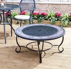 round table fire pit patio heater burner bbq garden outdoor patio brazier