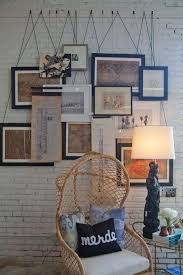 ribbon hanging picture frames easy craft ideas