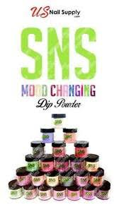 Image is loading SNS-MOOD-CHANGE-COLOR-Dipping-Powder-Pre-bond-
