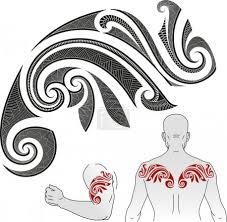 Vektor Vzor Maorského Tetování Chameleon 35808427 Fotobanka