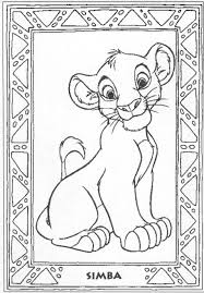 coloring page the lion king animation s 96 printable coloring pages