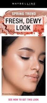 learn how to create flirty spring eye makeup looks with makeup tips tutorials by maybelline achieve dewy glowing skin from purple halo eyeshadow to