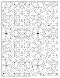 Pattern Colouring Pages To Print Geometric For Adults Printable