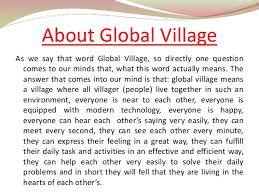global village 5 obama s speech on global village