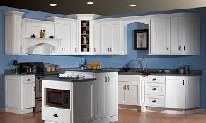 Kitchen Furniture Gallery White Kitchen Furniture With Blue Tiles For Backsplash Kitchen