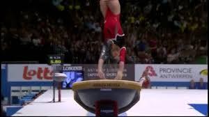 Vault gymnastics Gate Slow Motion Gymnastics Vault India Today Slow Motion Gymnastics Vault Youtube