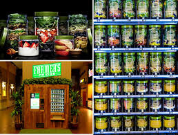 Vending Machine Candy Bars Enchanting No Candy Bars Here This Vending Machine Sells Only Fresh Salads And