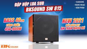 Hot 2021: Trải Nghiệm Loa Sub Điện BkSound SW 815 Bass 40cm, công suất 450W  Bán chạy nhất hiện nay - YouTube