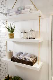 full size of lighting elegant bathroom wall shelves 7 interesting shelf with interior potted plants and