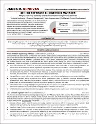 Software Engineering Manager Resume Example Distinctive Documents
