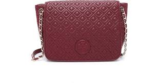 Tory burch Marion Quilted Shoulder Bag - Red Agate in Red | Lyst &  Adamdwight.com