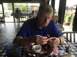 i had the best day at sharpshooters with my dad the other day it was a fantastic day and we ll be back soon we started with lunch at the bbq place