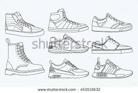 hanging converse shoes drawing. 8 cool shoes, sneakers, vector, sketch, draw set hanging converse shoes drawing w
