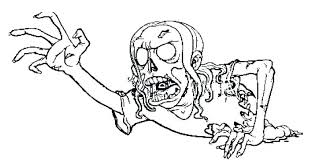 Free Printable Zombie Coloring Pages For Kids And Adults