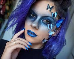 blue erfly cutest snapchat filter makeup tutorials you should definitely try