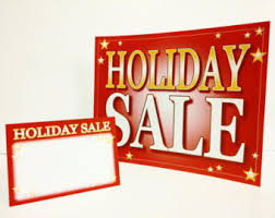 Christmas Sale Signs Halloween Holidays Wizard