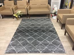 marrakesh 95 black moroccan style modern rug