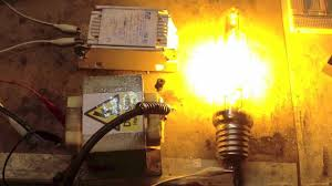 powering up a high pressure sodium lamp the wrong way out powering up a high pressure sodium lamp the wrong way out an igniter