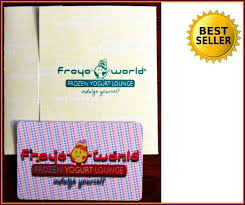 new froyoworld 100 gift card at 30 100 rated seller froyo world 1 of 2 new froyoworld 100 gift card