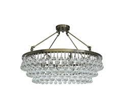 flush mount glass drop crystal chandelier antique brass and rachelle 4 light bronze