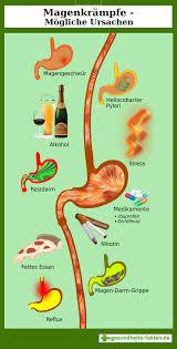 Magenkrämpfe - Magen-, darm -Grippe