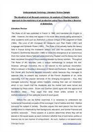 Literature Review Article Sample Custom Admission Paper Ghostwriter