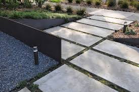 modern concrete patio. Exquisite Ideas Modern Concrete Pavers Pleasing Backyard Patio With