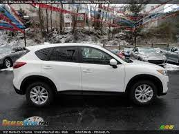 2013 Mazda Cx 5 Touring Crystal White Pearl Mica New Car Smell Mazda Cx5 Mazda
