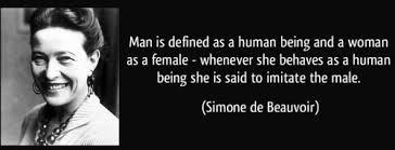 Simone De Beauvoir Quotes Cool Feminist Sexism Feminism Patriarchy Simone De Beauvoir Feminist