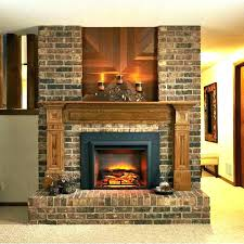 plug in fireplace electric fireplaces that walls home depot