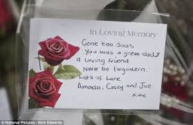 Tributes Paid To Chris Foster Stabbed To Death By Mistake Outside Extraordinary Gone Too Soon Death Quotes
