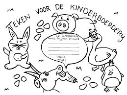 Zutphenaren Starten Kleurplatenactie Voor Kinderboerderij Sp Zutphen