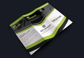 Texas Modern Creative Tri Fold Brochure Design Graphic