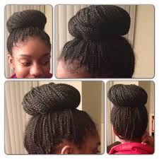 Black Braided Bun Hairstyles National Sticky Bun Day Eva Christine Traveltician