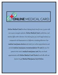 A card also provides more legal protection, especially when driving or flying with medication. Medical Marijuana Card Online By Harry Parker Issuu