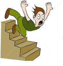 down stairs clipart. Exellent Down Someone Falling Down Stairs Clipart 1 In N