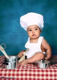 diy chef costume toddler