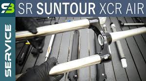 Finally Sr Suntour Xcr Air Lor Suspension Fork Service Full Overhaul