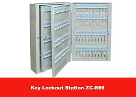 large key box lock size safety lockout station with customized logo holder