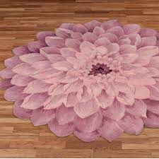 adilyn mum flower shaped round rugs adilyn round rug purple