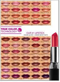 True Color Lipstick Lipstick Colors Avon True Lipstick